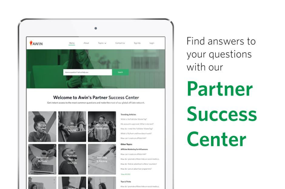Awin launches interactive self-help center to better support publishers - Creatos Media